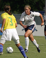 Amy Wambach, USWNT vs Brazil.