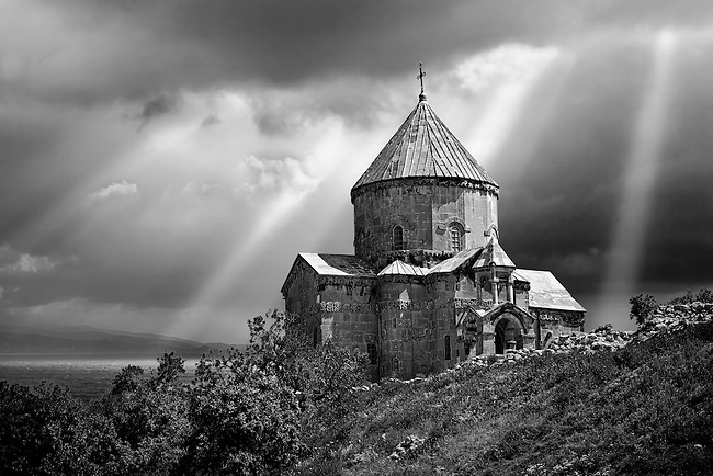 10th century Armenian Orthodox Cathedral of the Holy Cross on Akdamar Island, Lake Van Turkey 89