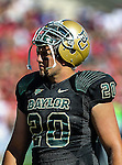 Baylor Bears tight end Jerod Monk (20) in action during the game between the Southern Methodist Mustangs and the Baylor Bears at the Floyd Casey Stadium in Waco, Texas. Baylor defeats SMU 59 to 24.