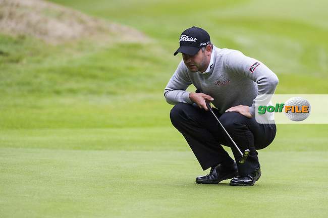 06-09-12 European Tour 2012, KLM Open, Hilversumsche Golf, Hilversum, The Netherlands. 06-09 Sep. Paul  Waring of England during the first round..Picture: golfsupport/golffile.ie.