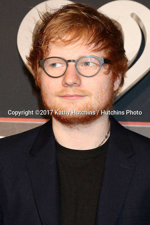 LOS ANGELES - MAR 5:  Ed Sheeran at the 2017 iHeart Music Awards at Forum on March 5, 2017 in Los Angeles, CA