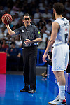 The Referee during the first match of the Semi Finals of Liga Endesa Playoff at Barclaycard Center in Madrid. June 02. 2016. (ALTERPHOTOS/Borja B.Hojas)
