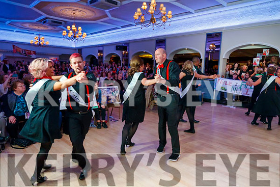 Dancers take the floor for the group dance at Sickly Come Dancing, UHK, at Ballygarry House Hotel & Spa, Tralee on Friday night last.