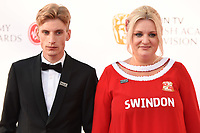 Charlie and Daisy May Cooper arriving for the BAFTA TV Awards 2018 at the Royal Festival Hall, London, UK. <br /> 13 May  2018<br /> Picture: Steve Vas/Featureflash/SilverHub 0208 004 5359 sales@silverhubmedia.com