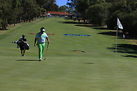 Kiradech Aphibarnrat (THA) in action on the 1st during Round 2 Matchplay of the ISPS Handa World Super 6 Perth at Lake Karrinyup Country Club on the Sunday 11th February 2018.<br /> Picture:  Thos Caffrey / www.golffile.ie<br /> <br /> All photo usage must carry mandatory copyright credit (&copy; Golffile | Thos Caffrey)