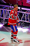 24 January 2009: Montreal Canadiens right wing forward Alexei Kovalev is introduced prior to the NHL SuperSkills Competition, part of the All-Star Weekend at the Bell Centre in Montreal, Quebec, Canada. ***** Editorial Sales Only ***** Mandatory Photo Credit: Ed Wolfstein Photo