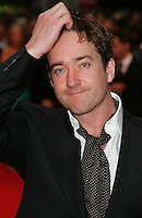 MATTHEW MacFADYEN.Red Carpet Arrivals for the British Academy Television Awards 2008, held at the London Palladium, London, England, .April 20th 2008.BAFTA BAFTA's half length polka dot cravate tie hand in hair jacket.CAP/ROS.©Steve Ross/Capital Pictures.