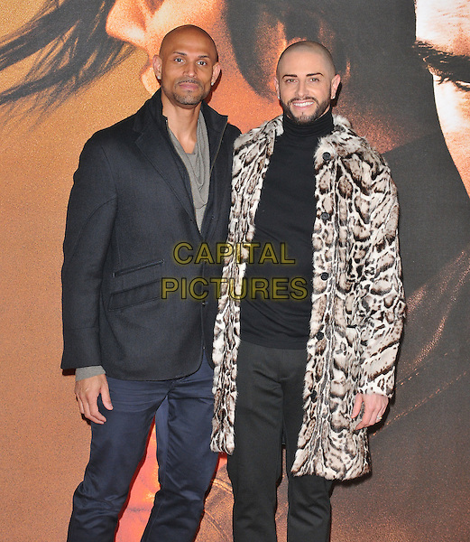 Daniel Brown and Brian Friedman at the &quot;Jack Reacher: Never Go Back&quot; European film premiere, Cineworld Empire Leicester Square cinema, Leicester Square, London, England, UK, on Thursday 20 October 2016. <br /> CAP/CAN<br /> &copy;CAN/Capital Pictures