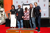 LOS ANGELES - OCT 14:  Kevin Smith, Family, Jason Mewes at the Kevin Smith And Jason Mewes Hand And Footprint Ceremony at the TCL Chinese Theater on October 14, 2019 in Los Angeles, CA
