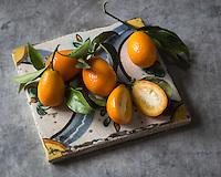 Gastronomie: Kumquats  // Gastronomy: Kumquats<br /> <br />  - Stylisme : Valérie LHOMME