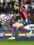 Levante UD's Jose Luis Morales during La Liga Second Division match. March 11,2017. (ALTERPHOTOS/Acero)