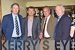 HONOURED: Players and officials from the Kerry 1984-86 three in a row squad who were honoured by the Kerry County board in the Plaza Hotel, Killarney on Friday night