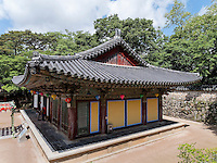 im buddhistischen Tempel Bulguksa, Gyeongju, Provinz Gyeongsangbuk-do, S&uuml;dkorea, Asien, UNESCO-Weltkulturerbe<br /> buddhist temple Bulguksa, Gyeongju,  province Gyeongsangbuk-do, South Korea, Asia, UNESCO world-heritage