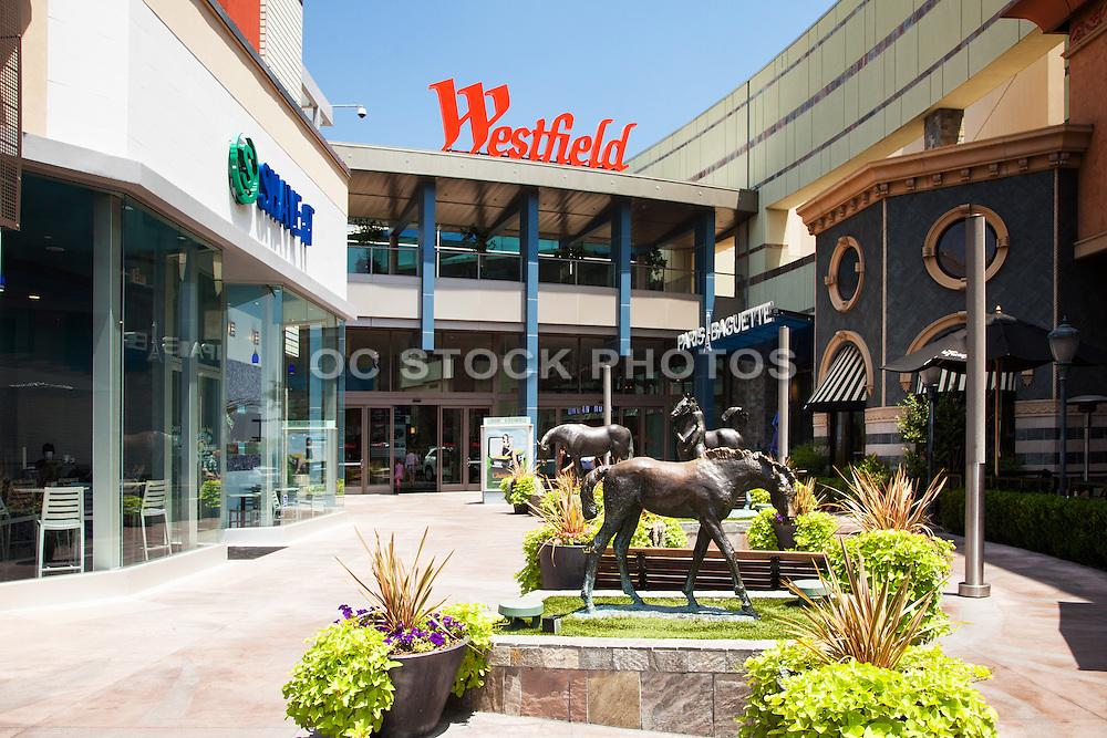 The Promenade Westfield Santa Anita Socal Stock Photos
