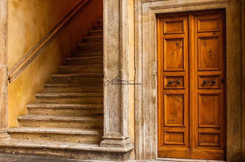 The door, a gateway to known and unknown areas.