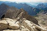 Germany: Bavaria: Zugspitze