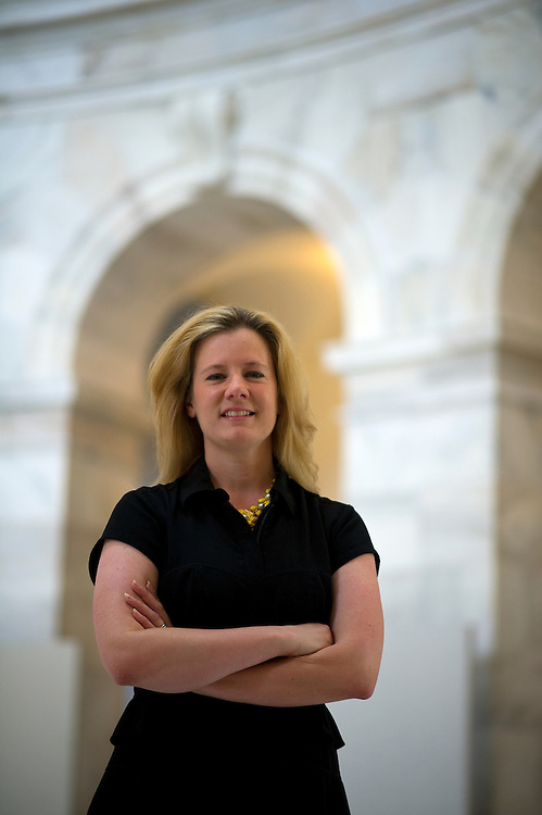 UNITED STATES - May 15: Amy Smith poses for a portrait in the Russell Senate Office Building for a On The Move featue.  (Photo By Douglas Graham/CQ Roll Call)