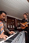 Bobby Lyle &  Brennan Nase lay down some jazz for Monrose Business mixer guests