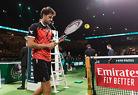 Rotterdam, The Netherlands, 11 Februari 2019, ABNAMRO World Tennis Tournament, Ahoy, first round match: Robin Haase (NED),<br />