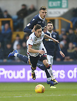 Bolton Wanderers' Will Buckley bursts forward<br /> <br /> Photographer Rob Newell/CameraSport<br /> <br /> The EFL Sky Bet Championship - Millwall v Bolton Wanderers - Saturday 24th November 2018 - The Den - London<br /> <br /> World Copyright © 2018 CameraSport. All rights reserved. 43 Linden Ave. Countesthorpe. Leicester. England. LE8 5PG - Tel: +44 (0) 116 277 4147 - admin@camerasport.com - www.camerasport.com
