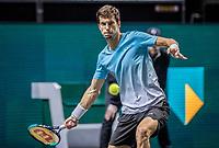 Rotterdam, The Netherlands, 15 Februari 2020, ABNAMRO World Tennis Tournament, Ahoy, Pablo Carreno Busta (ESP), <br /> Photo: www.tennisimages.com