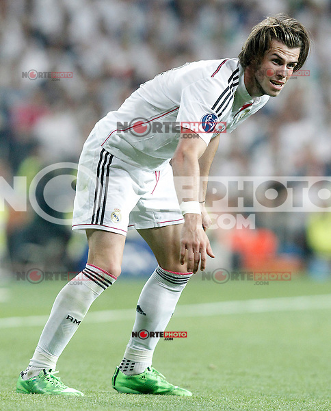 Real Madrid's Gareth Bale during Champions League 2014/2015 Semi-finals 2nd leg match.May 13,2015. (ALTERPHOTOS/Acero) /NortePhoto.COM