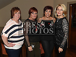 Pauline Savage, Elaine O'Brien, Leanne Casey and Fiona O'Connell at the Drogheda Pantomime Society reunion in the Thatch. Photo:Colin Bell/pressphotos.ie