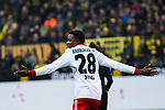 10.02.2018, Signal Iduna Park, Dortmund, GER, 1.FBL, Borussia Dortmund vs Hamburger SV, <br /> <br /> im Bild | picture shows:<br /> Gideon Jung (Hamburger SV #28), <br /> <br /> <br /> Foto &copy; nordphoto / Rauch