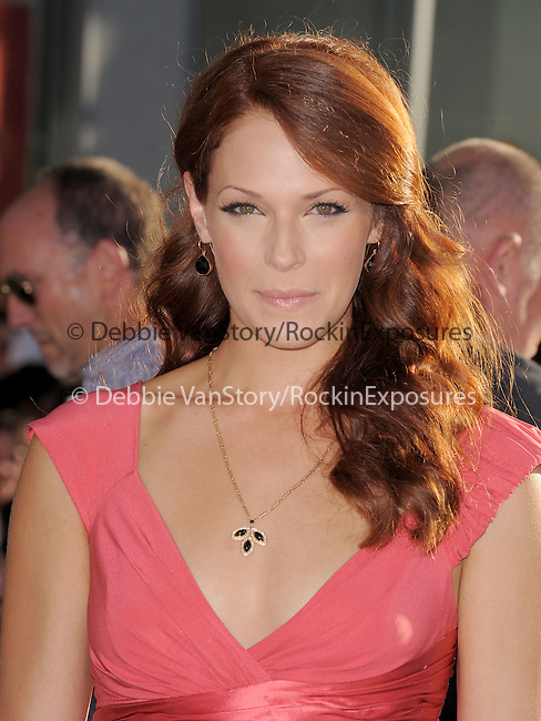 "Amanda Righetti at The Marvel Studios Premiere of "" Captain America : The First Avenger ""  held at The El Capitan Theatre in Hollywood, California on July 19,2011                                                                               © 2011 DVS/Hollywood Press Agency"