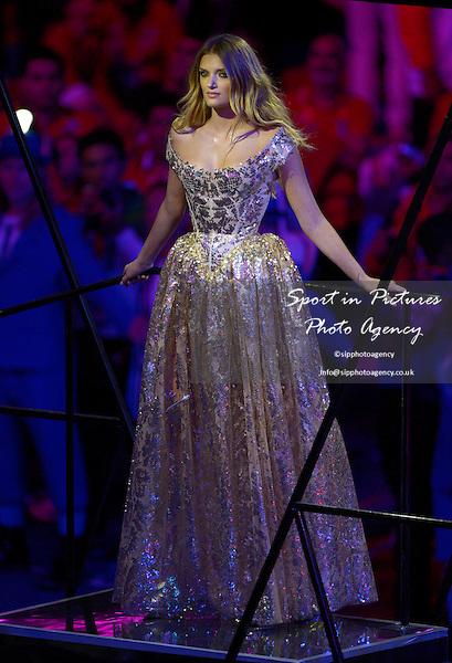 Kate Moss. Closing Ceremony - PHOTO: Mandatory by-line: Garry Bowden/SIP/Pinnacle - Photo Agency UK Tel: +44(0)1363 881025 - Mobile:0797 1270 681 - VAT Reg No: 768 6958 48 - 12/08/2012 - 2012 Olympics - Olympic Stadium, Olympic Park, London, England