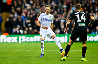 Leeds United's Barry Douglas takes on Hull City's Kamil Grosicki<br /> <br /> Photographer Alex Dodd/CameraSport<br /> <br /> The EFL Sky Bet Championship - Leeds United v Hull City - Saturday 29th December 2018 - Elland Road - Leeds<br /> <br /> World Copyright © 2018 CameraSport. All rights reserved. 43 Linden Ave. Countesthorpe. Leicester. England. LE8 5PG - Tel: +44 (0) 116 277 4147 - admin@camerasport.com - www.camerasport.com