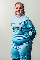Wedensday 26 July 2017<br /> Pictured: Kate Brisland<br /> Re: Swansea City Ladies Squad 2017- 2018 at the Liberty Stadium, Wales, UK