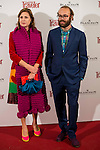 Agatha Ruiz de la Prada and his son Tristan attends to the presentation of the new guide wines and wineries of the magazine CN Traveler at Ritz Hotel in Madrid, Novermber 10, 2015.<br /> (ALTERPHOTOS/BorjaB.Hojas)
