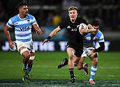9th September 2017, Yarrow Stadium, New Plymouth. New Zealand; Supersport Rugby Championship, New Zealand versus Argentina; All Blacks fullback Damian McKenzie