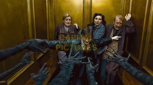 (Clockwise from center) DANIEL RADCLIFFE, SOPHIE THOMPSON, KATE FLEETWOOD & STEFFAN RHODRI.in Harry Potter and the Deathly Hallows: Part 1 .*Filmstill - Editorial Use Only*.CAP/FB.Supplied by Capital Pictures.