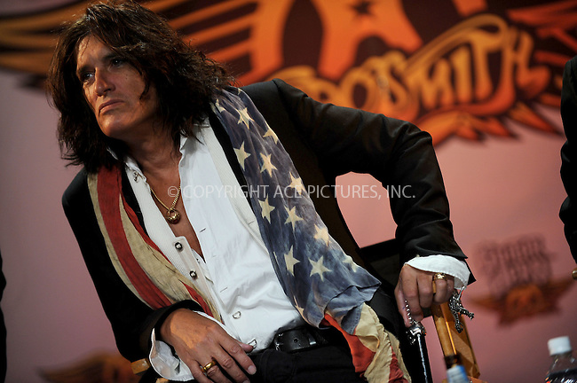WWW.ACEPIXS.COM . . . . .....June 27, 2008. New York City,....Musician Joe Perry of Aerosmith launches the Aerosmith edition of the video game 'Guitar Hero at the Hard Rock Cafe on June 27, 2008 in New York City...  ....Please byline: Kristin Callahan - ACEPIXS.COM..... *** ***..Ace Pictures, Inc:  ..Philip Vaughan (646) 769 0430..e-mail: info@acepixs.com..web: http://www.acepixs.com