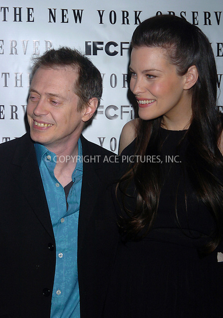"WWW.ACEPIXS.COM . . . . .  ....NEW YORK, MARCH 21, 2006....Steve Buscemi and Liv Tyler at the premiere of ""Lonesome Jim"".....Please byline: AJ Sokalner - ACEPIXS.COM.... *** ***..Ace Pictures, Inc:  ..Philip Vaughan (212) 243-8787 or (646) 769 0430..e-mail: info@acepixs.com..web: http://www.acepixs.com"