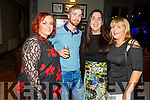 The staff of Nana Beas Castleisland attending the drag act, Candy Warhol in the The Ashe Hotel on  Friday. L to r: Joanne O'Toole, Danny Curtin, Rosaleen Wall and Helen Murphy.