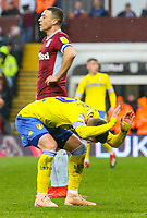Leeds United's Pablo Hernandez rues a missed opportunity<br /> <br /> Photographer Alex Dodd/CameraSport<br /> <br /> The EFL Sky Bet Championship - Aston Villa v Leeds United - Sunday 23rd December 2018 - Villa Park - Birmingham<br /> <br /> World Copyright &copy; 2018 CameraSport. All rights reserved. 43 Linden Ave. Countesthorpe. Leicester. England. LE8 5PG - Tel: +44 (0) 116 277 4147 - admin@camerasport.com - www.camerasport.com
