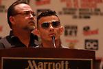 Conferencia de prensa entre Luis Ortiz Vs Tony Thompson y Óscar Escandón Vs Robinson Castellanos en el hotel Marriott Grand Park, en Washington D.C.