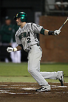 February 20, 2010:  Second Baseman Dan Paolini (2) of the Siena Saints during the season opener at Melching Field at Conrad Park in DeLand, FL.  Siena defeated Stetson by the score of 8-4.  Photo By Mike Janes/Four Seam Images