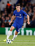 Chelsea's Andreas Christensen in action during the champions league match at Stamford Bridge Stadium, London. Picture date 12th September 2017. Picture credit should read: David Klein/Sportimage