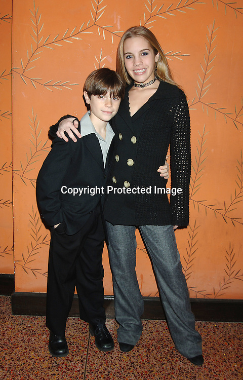 Eddie and Kristen Alderson ..at the One Life To Live Christmas Party at LQ on     December 12, 2005. ..Photo by Robin Platzer, Twin Images