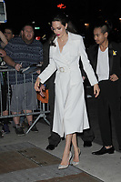 www.acepixs.com<br /> September 14, 2017 New York City<br /> <br /> Angelina Jolie was seen on September 14, 2017 in New York City.<br /> <br /> Credit: Kristin Callahan/ACE Pictures<br /> <br /> <br /> Tel: (646) 769 0430<br /> e-mail: info@acepixs.com