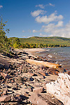 Porcupine Mountains State Park on Lake Superior in Ontonagon County.