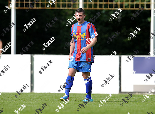2013-07-15 / Voetbal / seizoen 2013-2014 / Rapid Leest - Hoogstraten VV / Alessandro Di Teranto<br /><br />Foto: Mpics.be