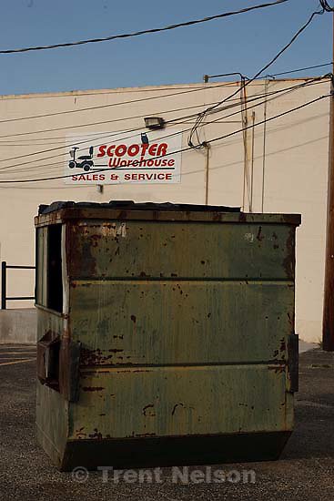 San Angelo - Walking around, dumpster shoot. Wednesday, May 28, 2008.; 05.28.2008.