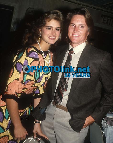 Brooke Shields Bruce Jenner 1985<br /> Photo By John Barrett/PHOTOlink.