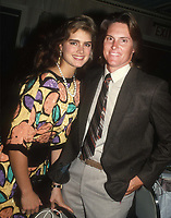 Brooke Shields Bruce Jenner 1985<br /> Photo By John Barrett/PHOTOlink.