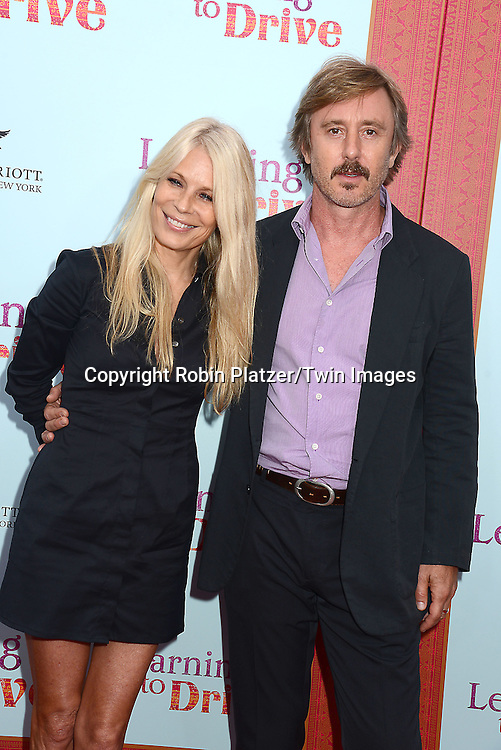 Jake Weber and Korrie Culbertson attend the NewYork VIP Premiere of &quot;Learning to Drive&quot;<br /> on August 17, 2015 at The Paris Theatre in New York City, New York, USA.<br /> <br /> photo by Robin Platzer/Twin Images<br />  <br /> phone number 212-935-0770